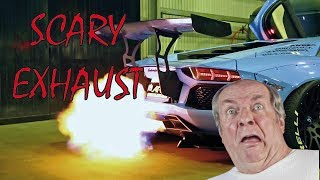 Scary Exhaust (scare people and animals) - FUNNY REACTIONS