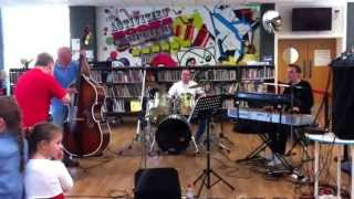 "Wildcats of Kilkenny. ""Big Lunch"" at Stockton Library, 2/6/13."
