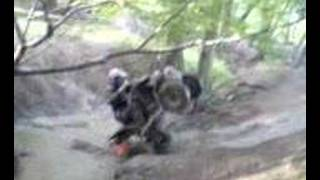 Quad bike stunts