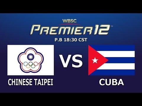 Game 24 Group A Chinese Taipei vs Cuba
