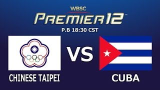Game 24 Group A Chinese Taipei vs Cuba