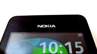 Nokia Asha 501 - двухсимный малыш - видео обзор