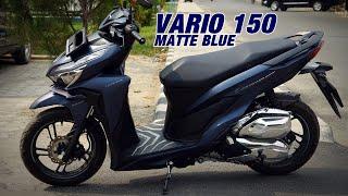 MODIFIKASI VARIO 150 2019 - MATTE BLUE