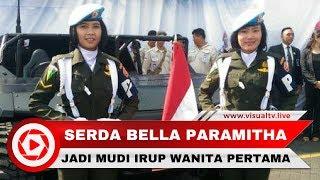 vuclip Serda Bella, Kowad Cantik Sopir Jokowi Saat Inspeksi Pasukan HUT TNI