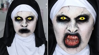 The Conjuring 2 Valak Nun ♡ SFX Halloween Makeup Tutorial