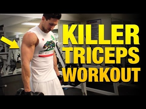 Killer Tricep Workouts For Mass - 5 Exercises To Build Bigger Triceps