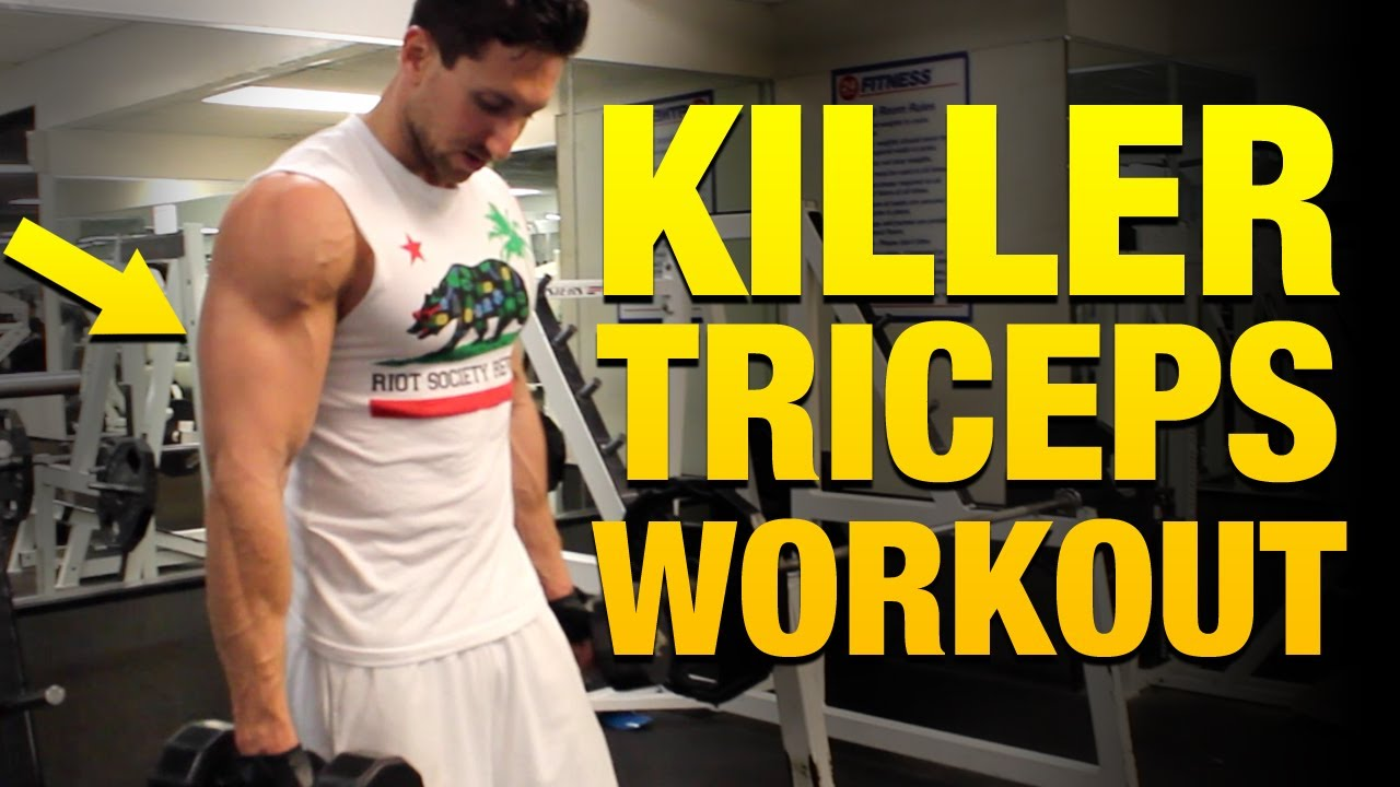 Killer Tricep Workouts For Mass - 5 Exercises To Build