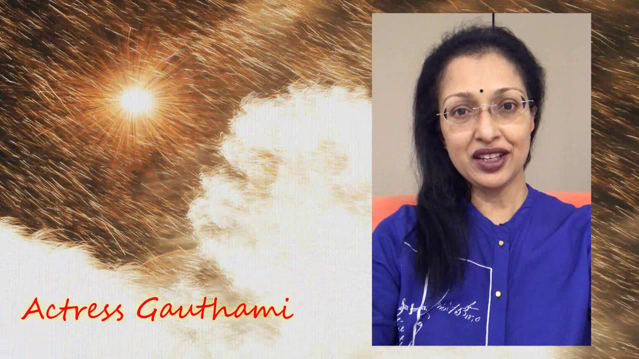 Actress Gauthami Wishes Desiplaza TV - Happy 6th Anniversary