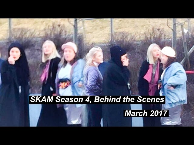 SKAM Season 4, Behind the Scenes (March 2017)