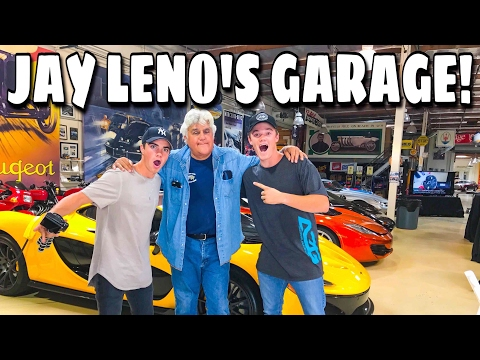TOUR OF THE WORLD'S MOST FAMOUS CAR GARAGE! (JAY LENO)