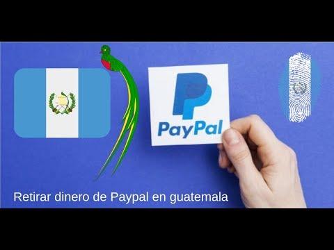 Como retirar fondos de paypal en guatemala