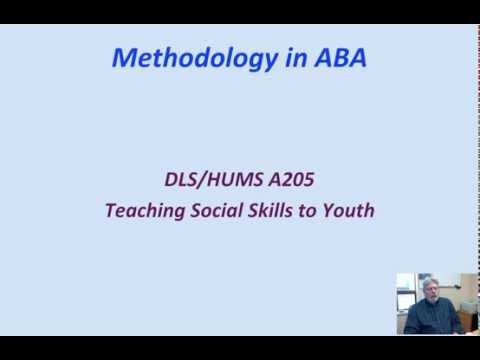 Methodology in ABA