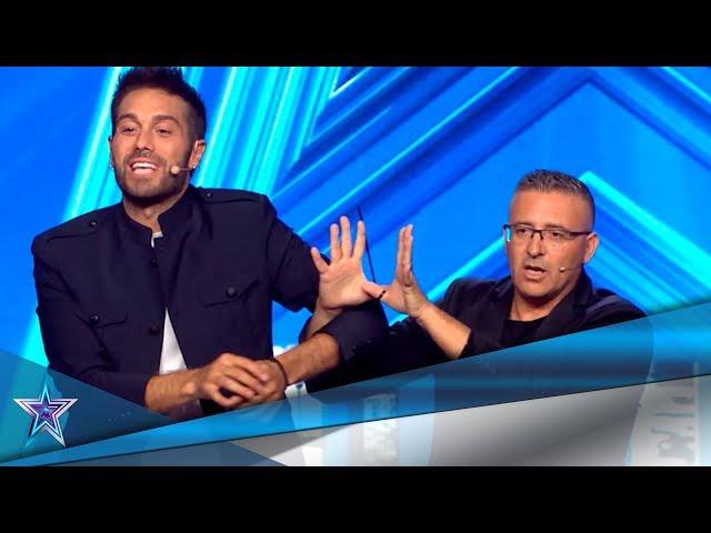 ¡INCREÍBLE! Este MAGO hace MAGIA con las MANOS ATADAS | Audiciones 5 | Got Talent España 5 (2019)