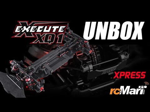Xpress Execute XQ1 RC Touring Car Unbox