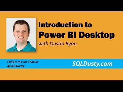 Introduction to Power BI Desktop