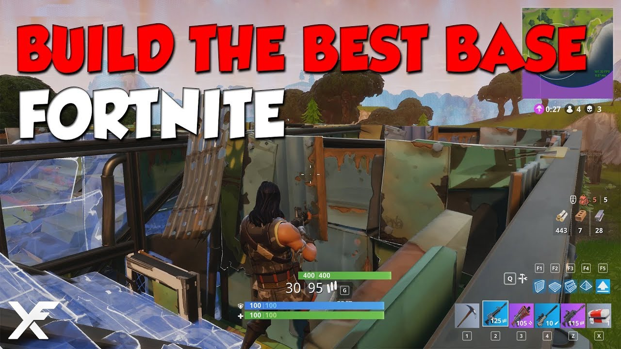 How To Build The Best Base Fortnite Battle Royale Youtube