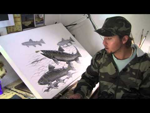 The Fine Art Of Flyfishing Art