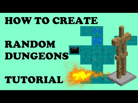 How To Create Random Dungeons - Minecraft Command Block Tutorial
