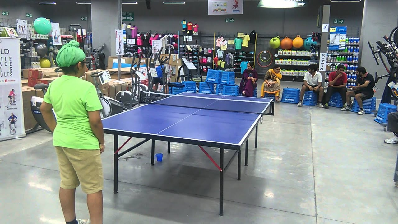 Table tennis tournament decathlon mohali youtube - Decathlon table ping pong ...