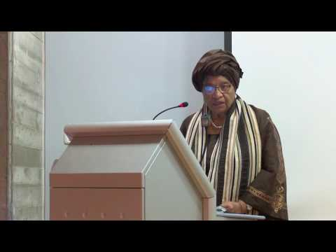 Lecture by H.E. President Ellen Johnson Sirleaf, Republic of Liberia, Honorary Doctorate Recipient