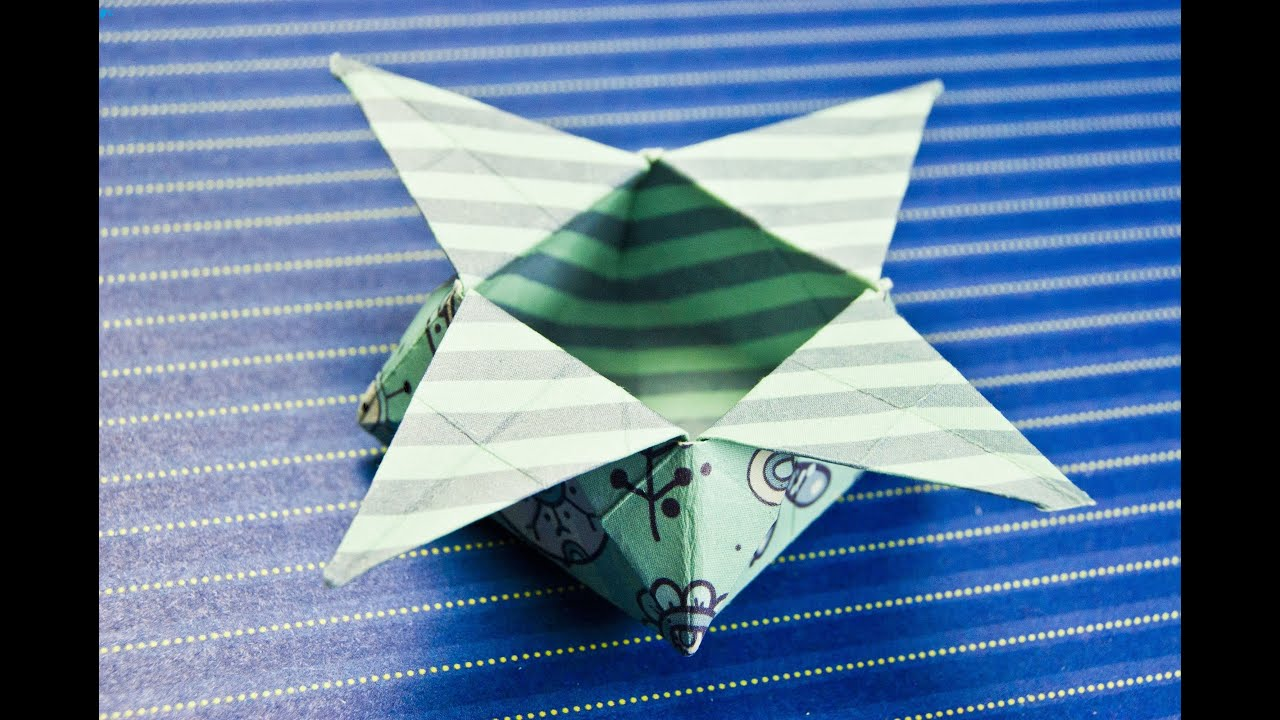How To Make An Easy Origami Star Box