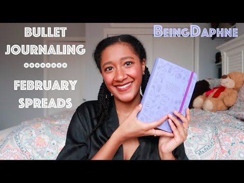 Function Over Fuss   Simple Bullet Journal February Spreads   BeingDaphne