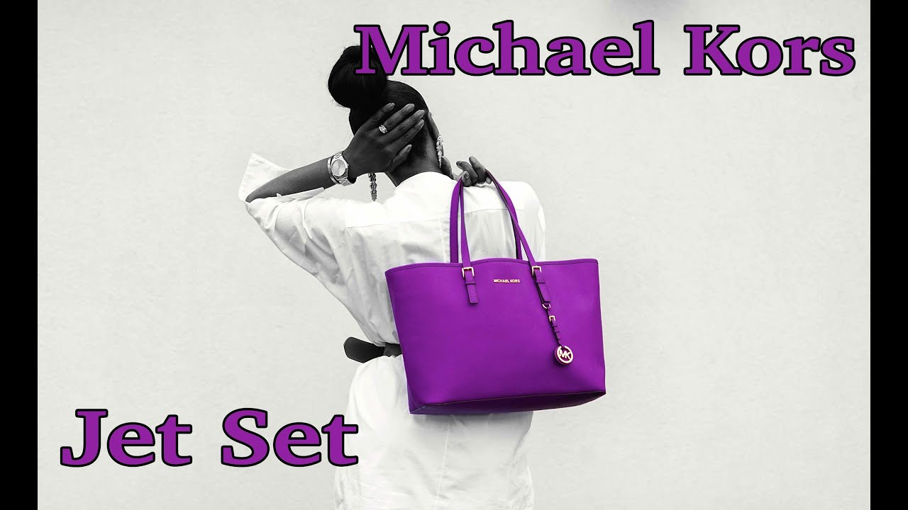 6c97c3e36598 Buy michael kors jet set tote purple   OFF56% Discounted