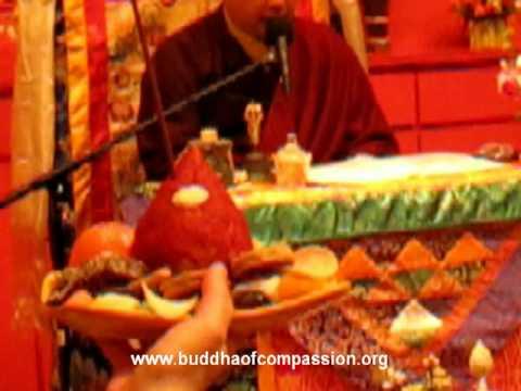 Song of Ganachakra Puja, Rigzin-Dudpa, Guru Rinpoche, Nyingma, Chanting mantra Guru Rinpoche