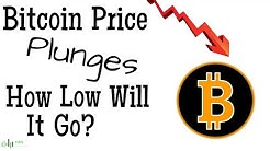 BITCOIN (BTC) PRICE PLUNGES - HOW LOW WILL IT GO?