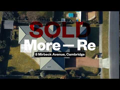More-Re   SOLD at auction - 8 Mirbeck Avenue, Cambridge
