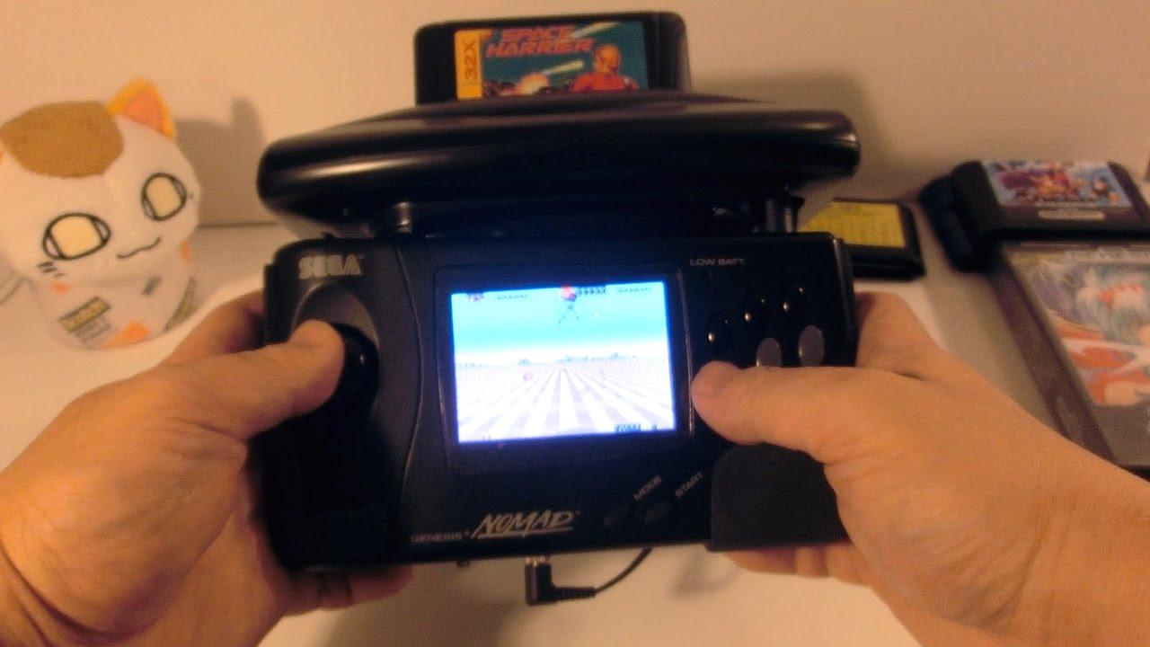 Genesis 32x Running On Modified Sega Nomad External Pad
