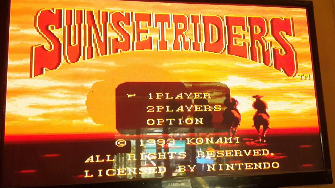 Sunset Riders SNES (VC Wad ) on Wii + Download