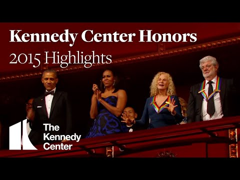 Kennedy Center Honors Highlights 2015