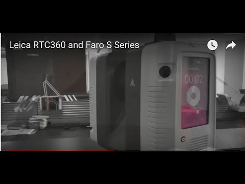 Leica RTC360 and Faro S Series