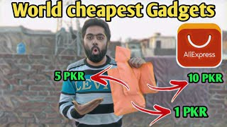 World most cheapest gadgets from AliExpress !! Mystery items Unboxing  AliExpress !! Gadgets Unox