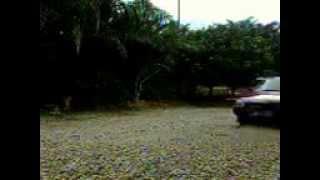 Mitsubishi Tredia morning drive.