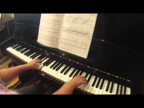 Mist by Clifford Poole RCM piano repertoire grade 1 2015 Celebration Series