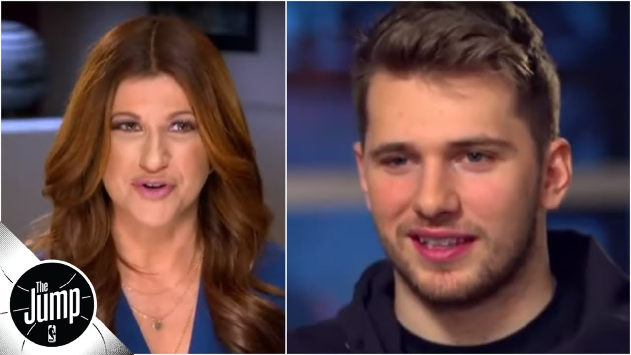 Luka Doncic to Rachel Nichols: I've always played like this | The Jump