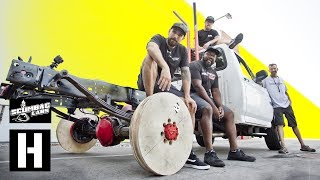 Download Plywood Wheel Burnouts - Will They Catch Fire? Mp3 and Videos