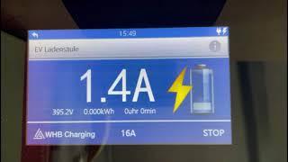 |WHB Charging| Voll-Aufladung initiieren