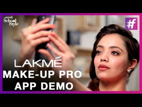 Fashion Tips - Let's Try Lakme Make-up Pro App With Navyata | #fame School Of Style