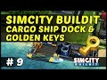 Download CARGO SHIP DOCK & GOLDEN KEYS - SimCity BuildIt - Ep9 MP3 song and Music Video