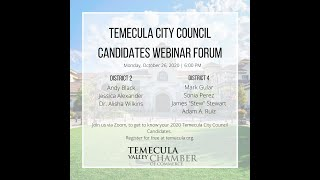 City Council Candidates Forum