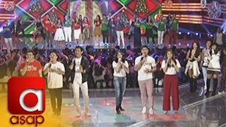 ASAP: Kapamilya stars sing the ABS-CBN Christmas Station ID 2017