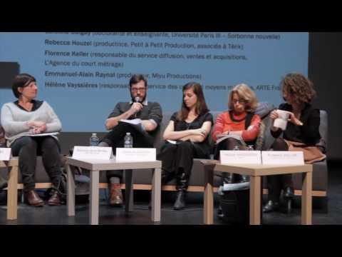 """Table ronde ROC """"La présence du court métrage sur internet : visibilité versus rémunération ?"""""""