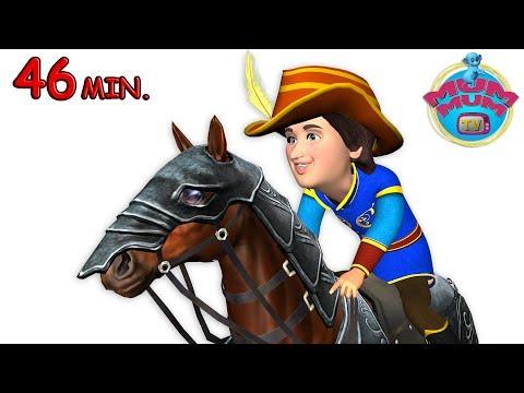 Yankee Doodle, Humpty Dumpty & more Children's Nursery Rhymes Songs Videos | Mum Mum TV