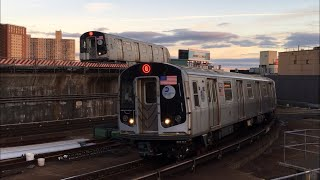 Minecraft My Sister's World: MTA Q Train Line