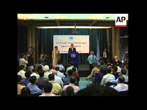 UN chief on India blasts, DR Congo, MidEast, Myanmar