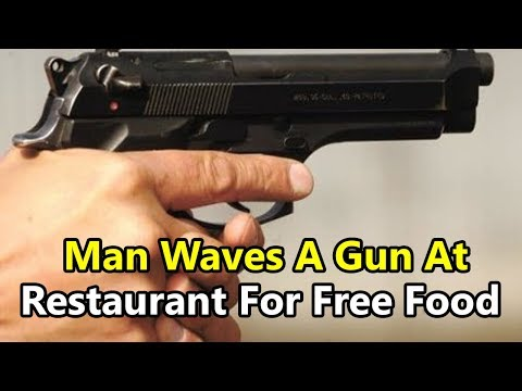 Noida Man Waves A Gun At Restaurant For Free Food, Ends Up in Jail