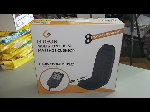 Product Review Gideon Powerful Vibrating Massager Seat Cushion